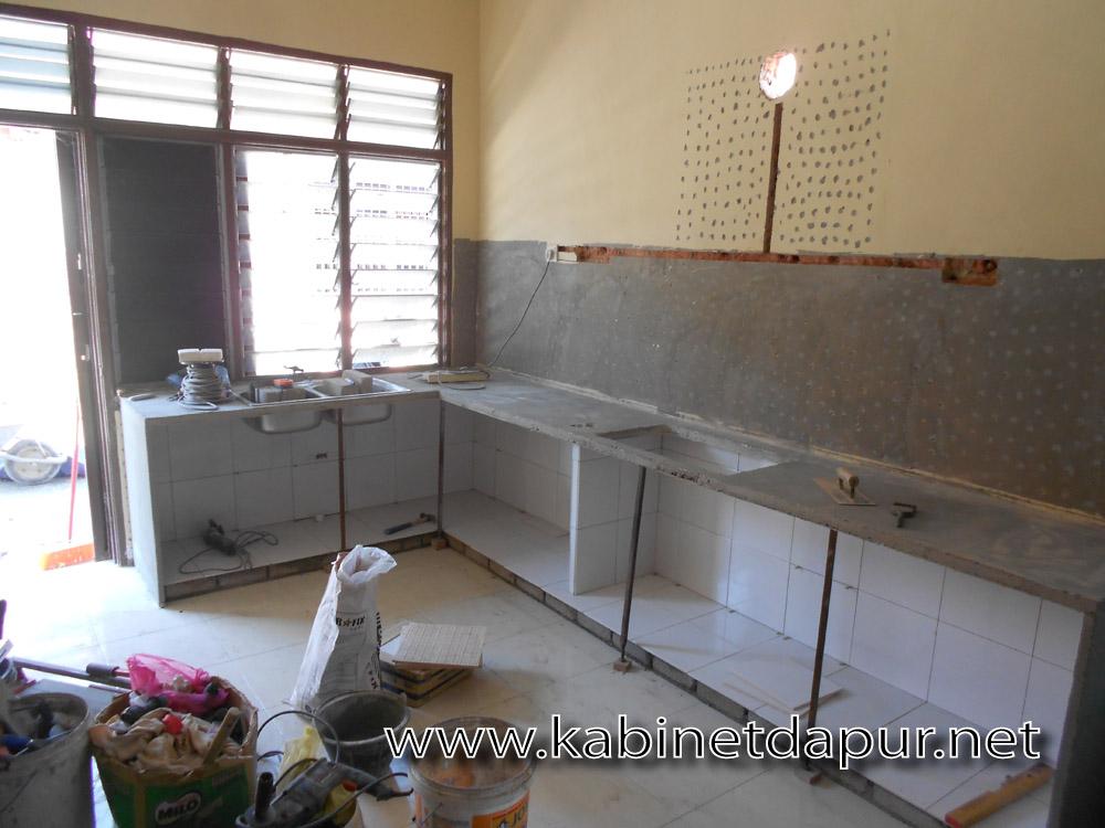 Keadaan Dapur Sebelum Kerja Ubahsuai