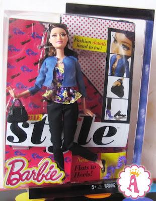 Кукла Ракель шарнирная из коллекции Барби стиль 2015 года