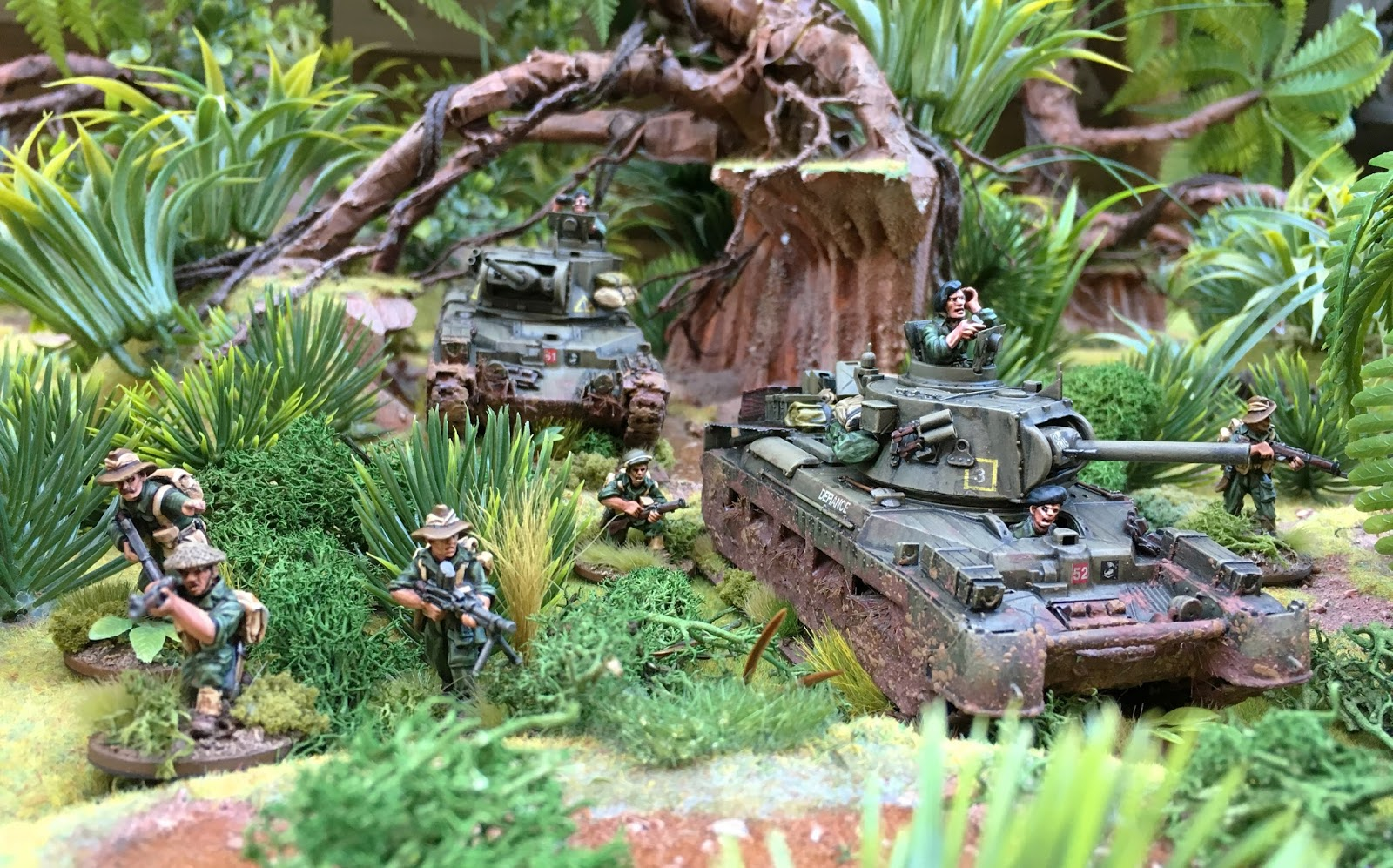 Bolt action modelling jungle tanks tutorial wwpd for 10 in 1 games table australia