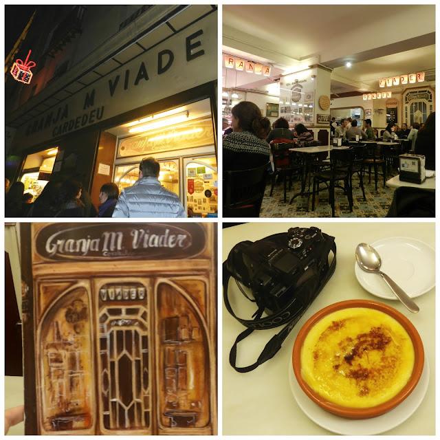 O que e onde comer em Barcelona - Granja Viader