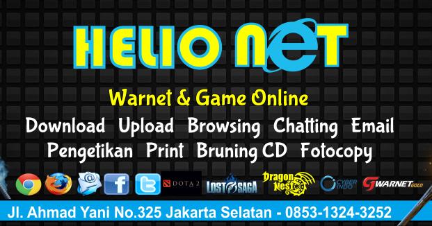 Contoh Desain Banner Warnet Game Online Keren Format ...