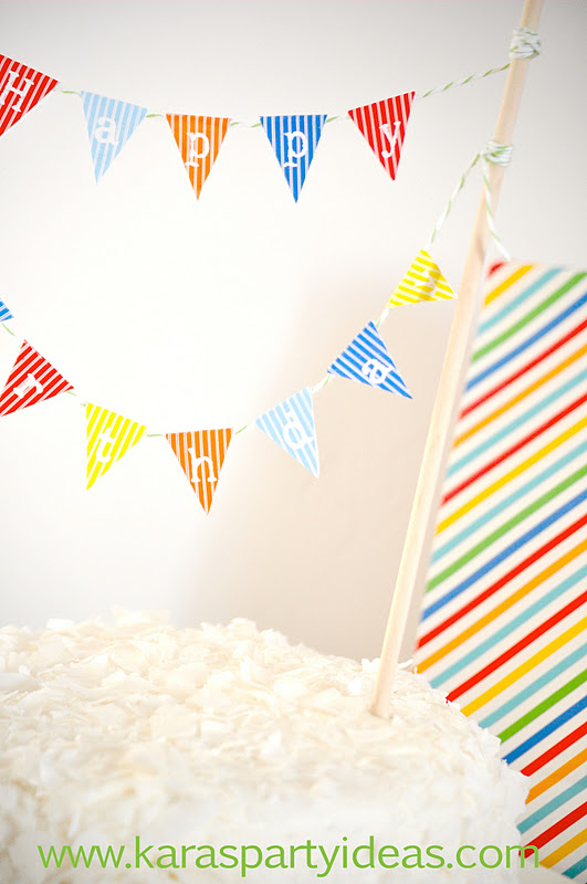 Make Your Own Cake Bunting