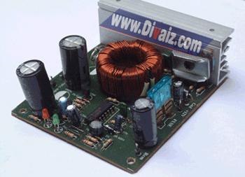 Rangkaian Converter 12 VDC ke 32 VDC Untuk Mobil & Sepeda Motor