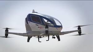 Vuela el primer 'dron taxi' en Dubái