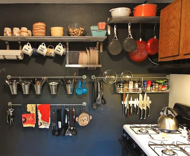 Penempatan Kitchen Set Minimalis Dapur Kecil