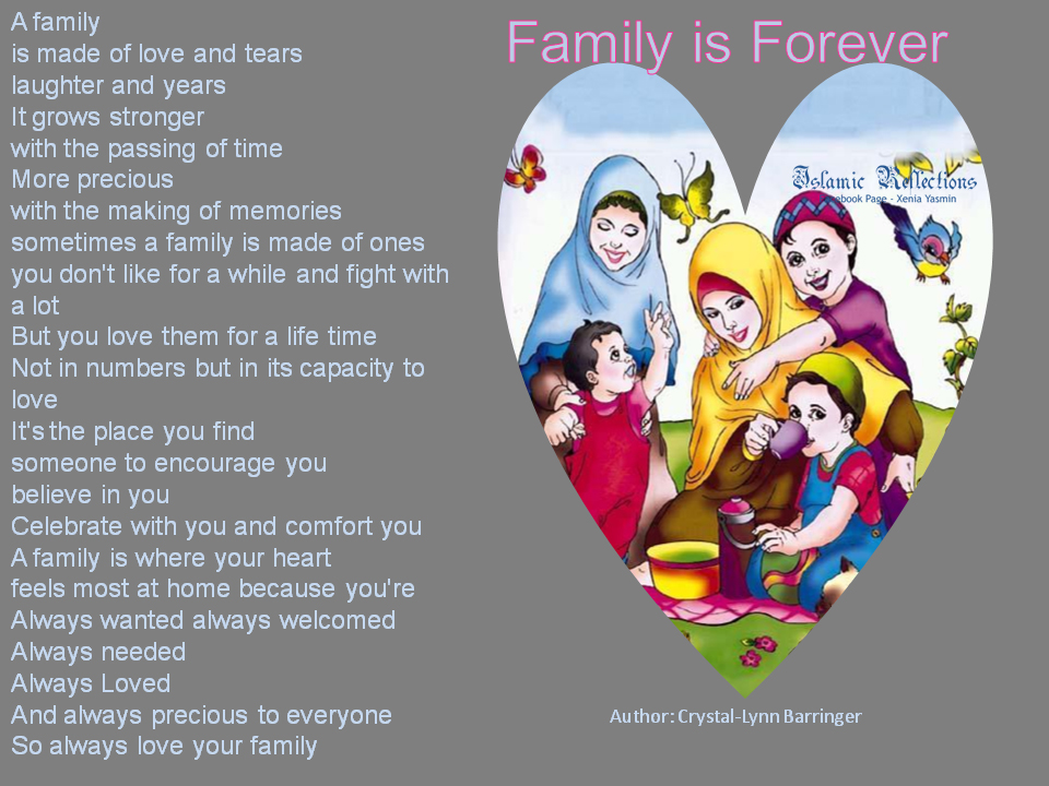 Huge Lovers Quotes Family Is Forever