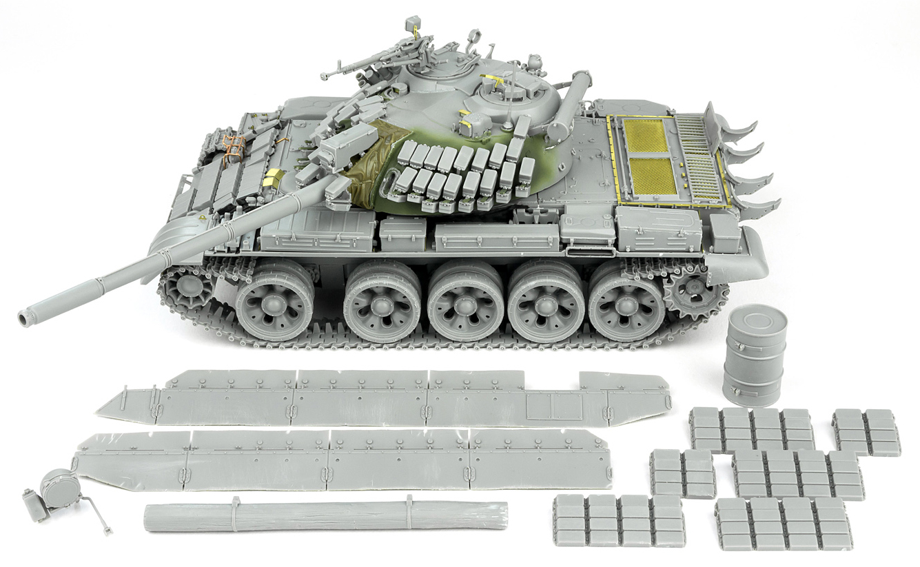 Andy builds Takom's 35th scale T-55 AMV Russian Medium Tank