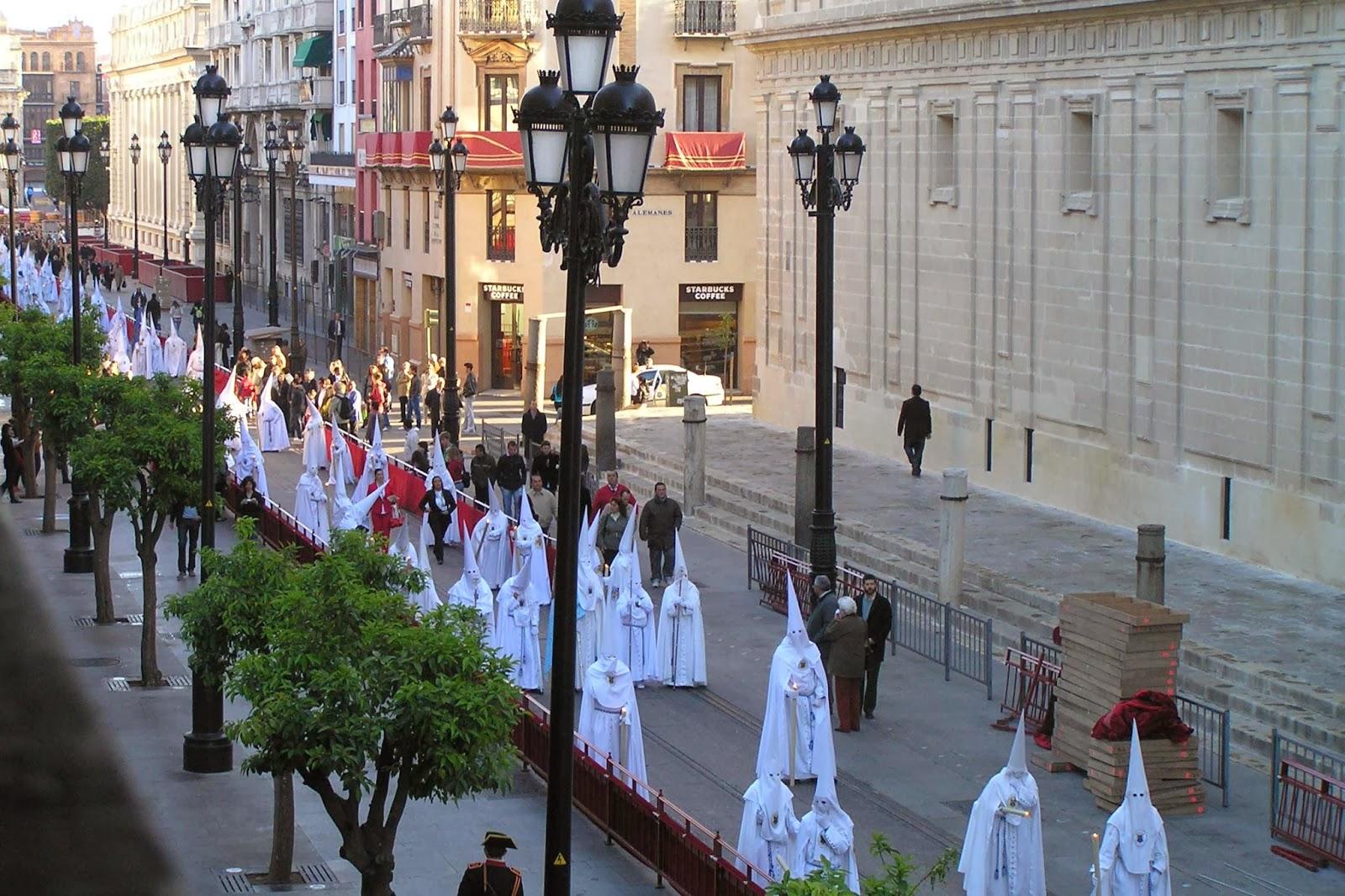 Procesiones de la Semana Santa Sevillana.