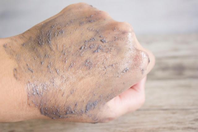 Gommage mains kiko