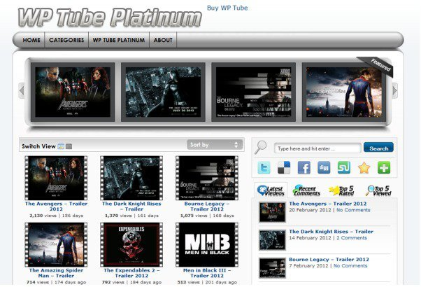 WP Tube Video 2 0 Crack WordPress Plugin Free Download