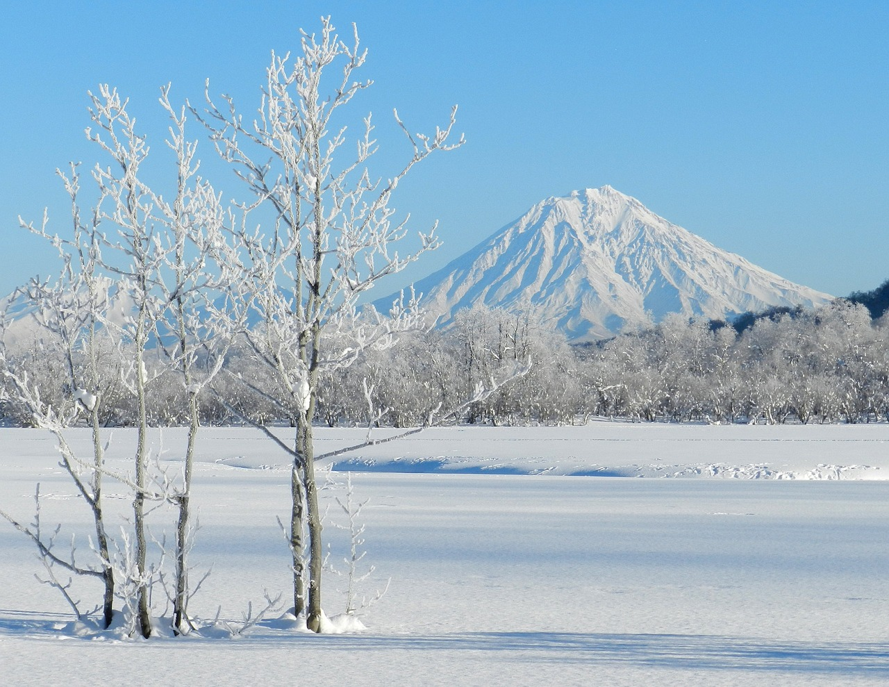 Камчатка зимой картинки