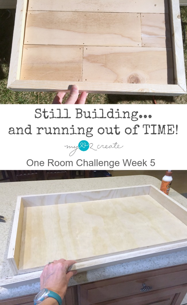 Still building one room challenge week 5, MyLove2Create