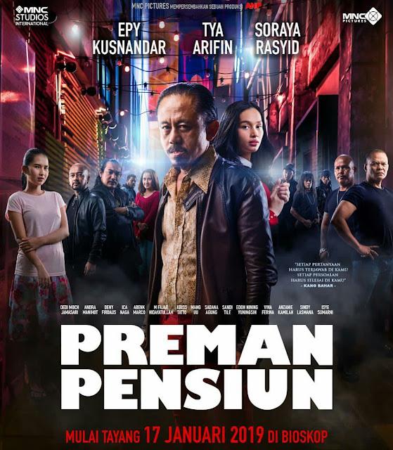 Poster film Preman pensiun