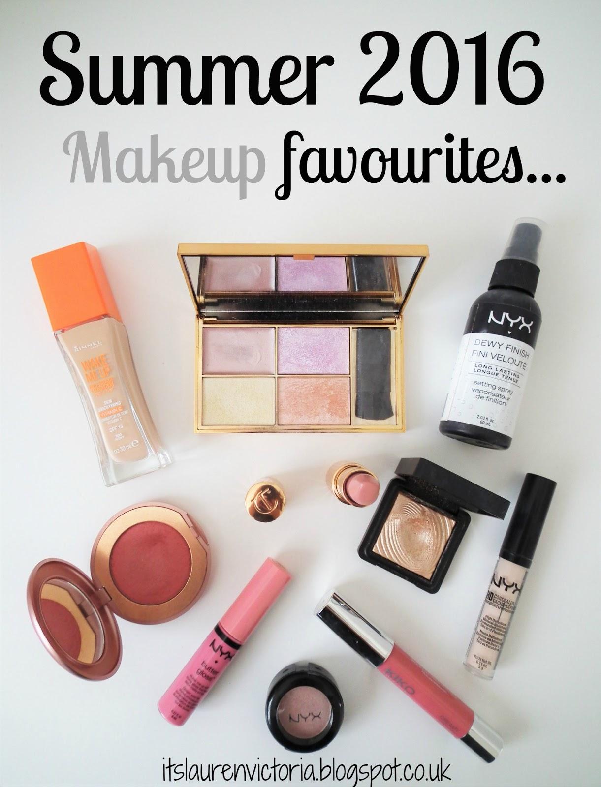 Summer 2016 Makeup Favourites Pinterest