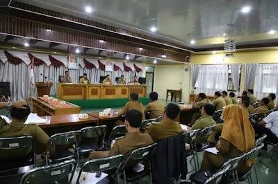 Sekda Lambar Gelar Rapat Persiapan MTQ Tingkat Kabupaten Ke-22 Tahun 2018