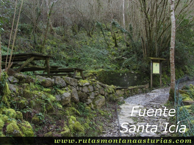 Fuente Santa Icía, Belmonte