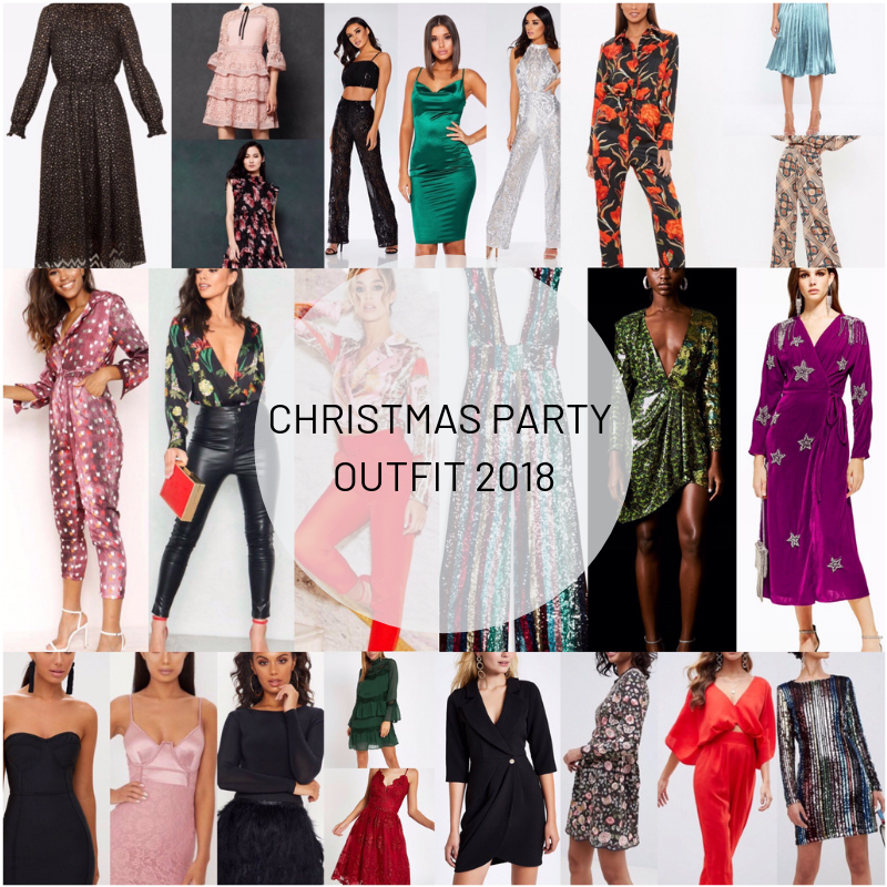 Christmas Party Outfits.The 2018 Christmas Party Outfit Wishlist Moodboard
