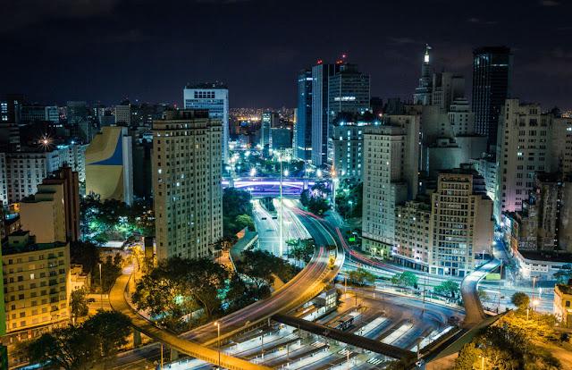 Noite na Cidade de São Paulo