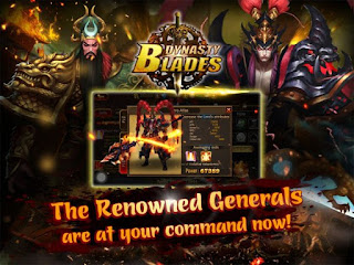 Dynasty Blades: Warriors MMO Mod Apk