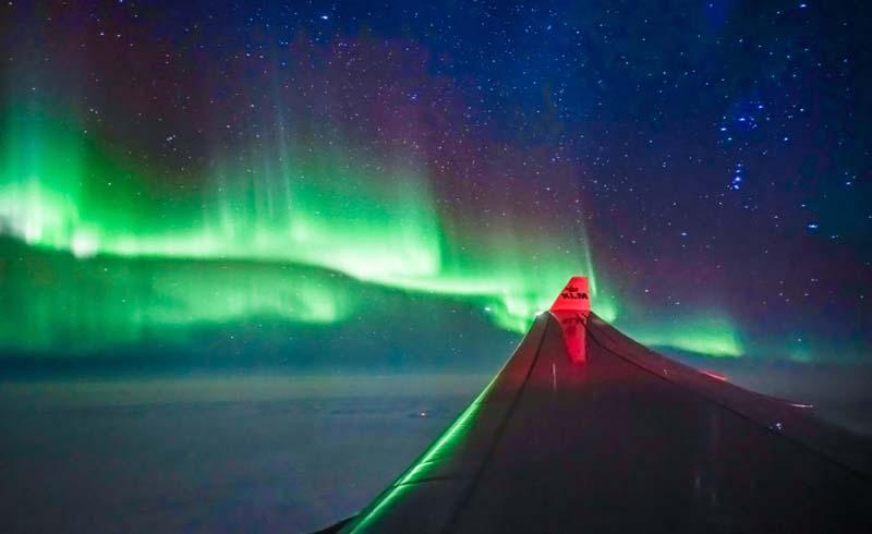 nature, aurora