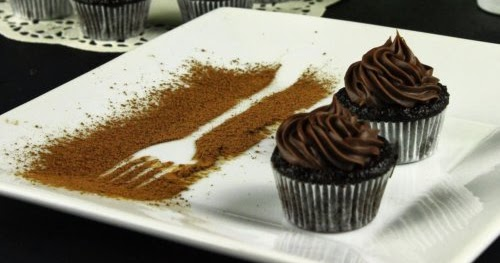 Chitra S Cuisine Quot Perfectly Chocolate Quot Chocolate Cup Cake