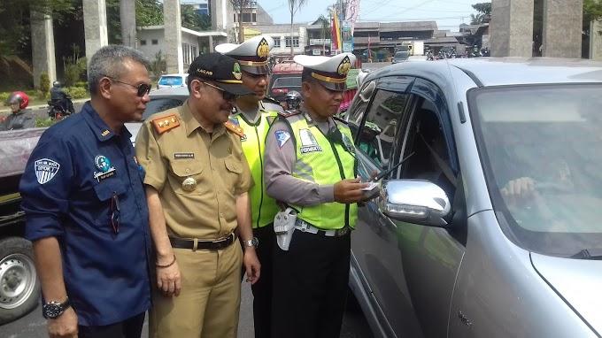 Operasi Gabungan Samsat Depok Tindak 146 Penunggak Pajak