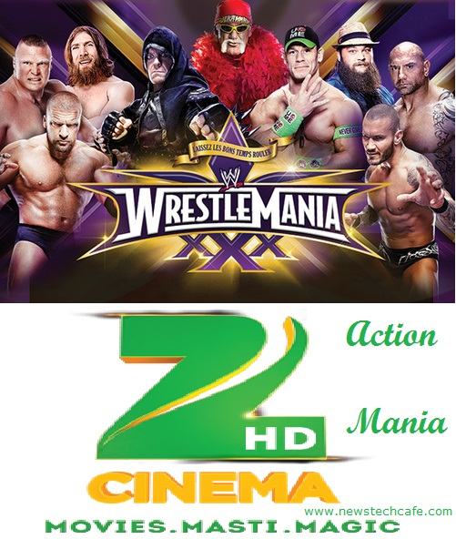 WWE in Hindi Teleacast on Zee Cinema from 13 September | Action Mania
