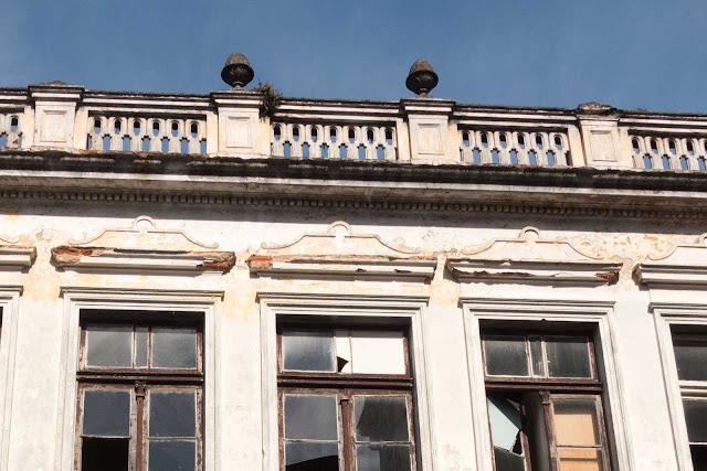 A antiga sede da Funerária São Francisco