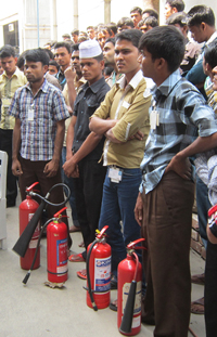 Application for Awareness Training of Fire Drill