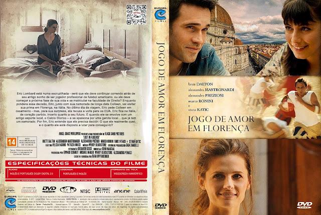 Capa DVD Jogo de Amor em Florença [Custom]