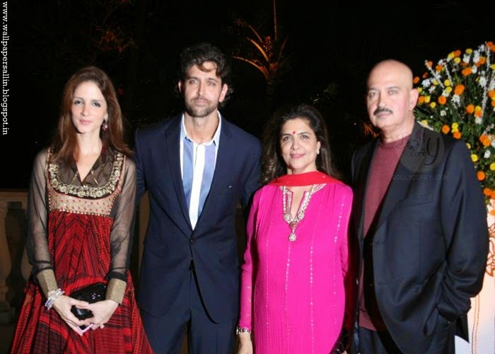 hrithik roshan family photos