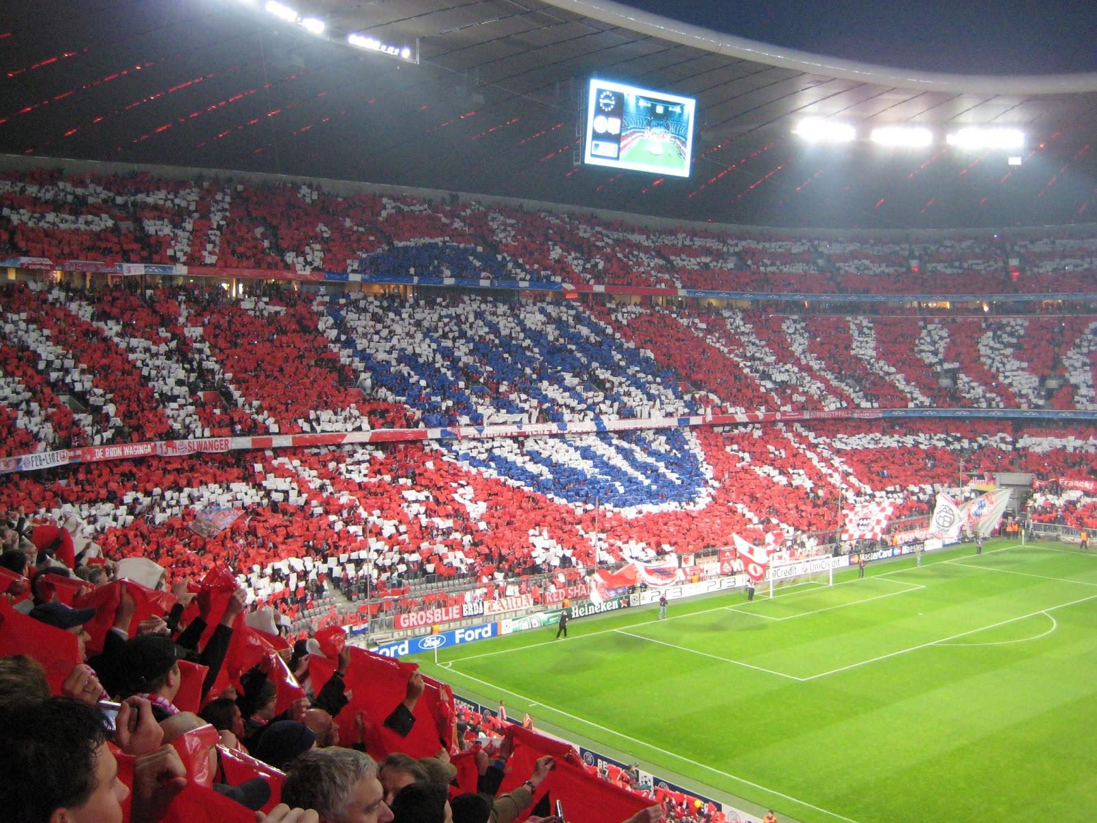 Bayern München and Allianz Arena | Awin Language