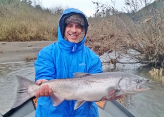 Southern oregon fishing report coast rogue river for Southern oregon fishing report