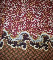 Kain Batik Prima 5006 Merah Maroon