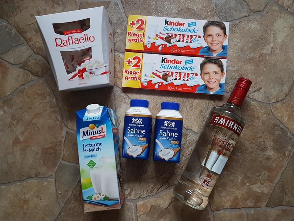kinderschokolade likör