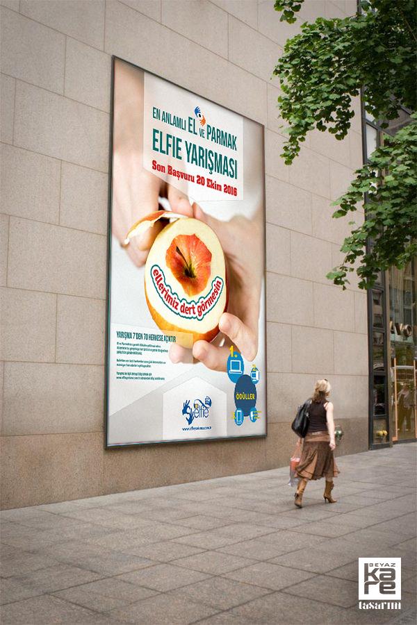 kampanyası yarışma afişi billboard