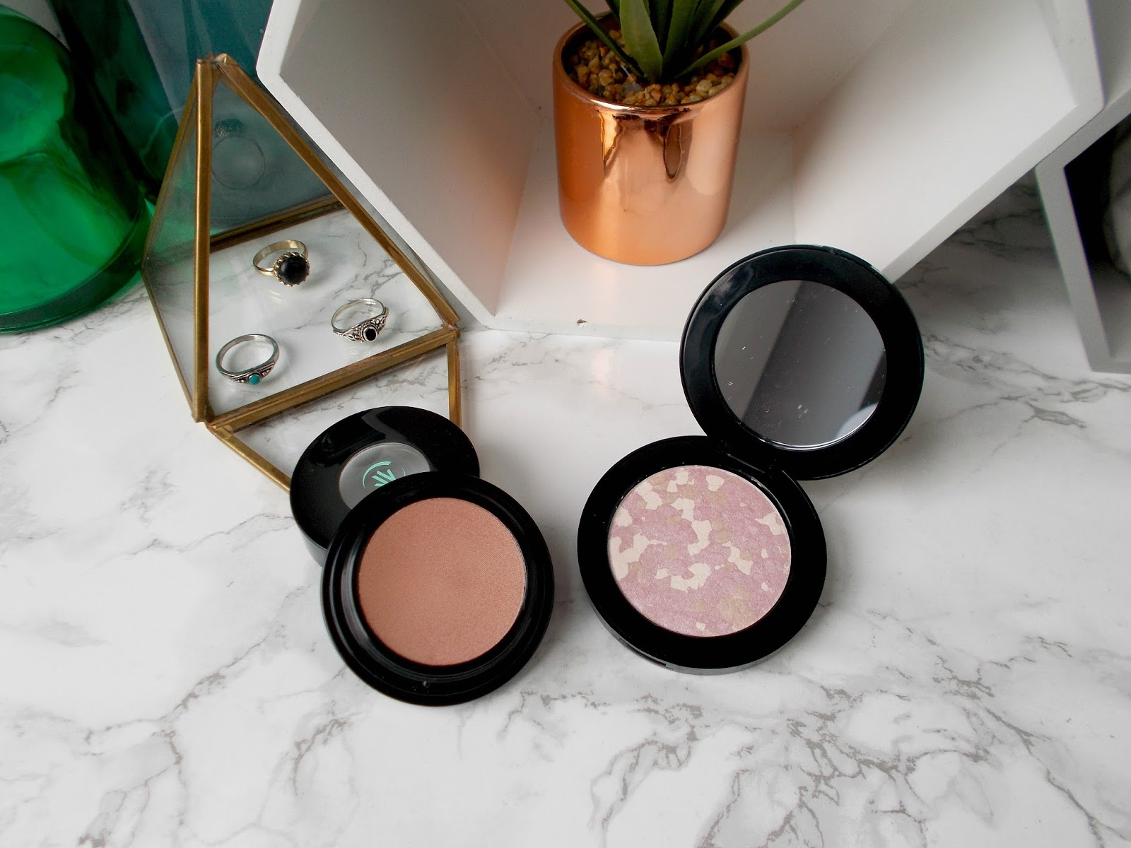 Vincent Longo highlighters review creme to powder la bella luce