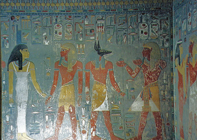 The Tomb of Horemheb, Wall Painting