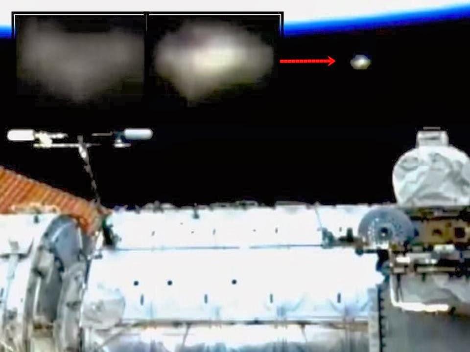Triangle-shaped UFO spotted on NASA International Space ...