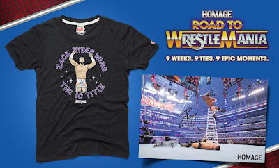 "Road to WrestleMania Week 9 ""Zack Ryder Wins"" WrestleMania XXXII T-Shirt by Homage x WWE"