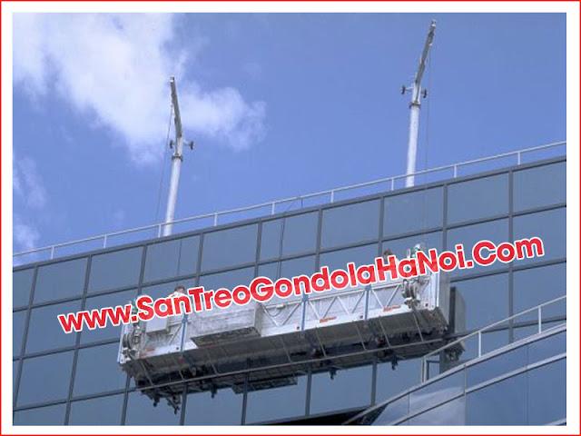 Sàn treo tiêu chuẩn 1000 kg tải trọng tại Gondola Hà Nội