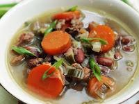 Resep Sup Kacang Merah, Menu Makan Sahur Paling Enak dan lezat