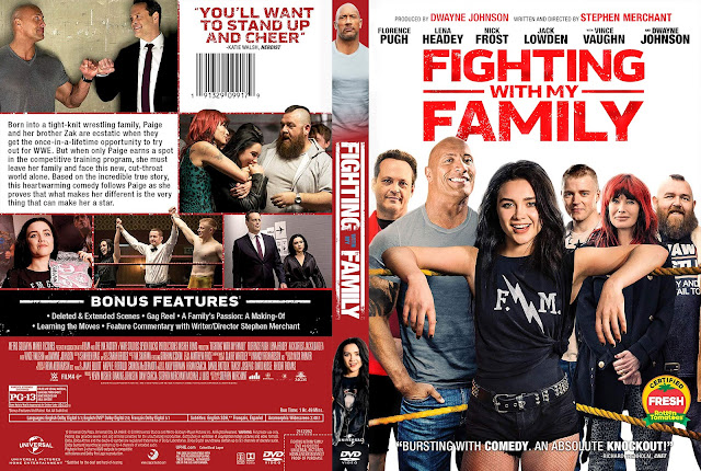Fighting with My Family DVD Cover