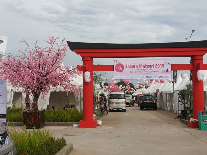 Sakura Matsuri 2015 Lippo Cikarang Indonesia