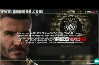 FTS 19 Mod PES 2019 by GANG RRL Apk Data Obb