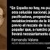 Una voz republicana, por Fernando Valera