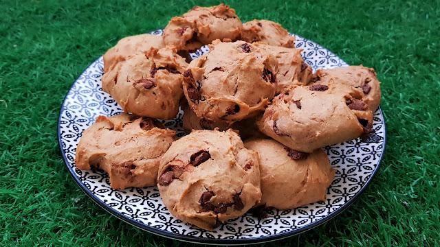 Galletas muy fáciles de crema de cacahuete