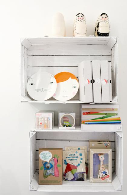ideas para niños de caja de madera reciclada
