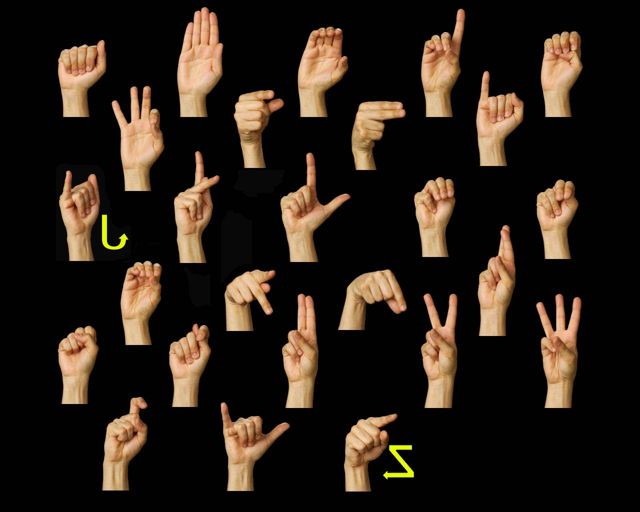 Slice Of The Blog Pie American Sign Language