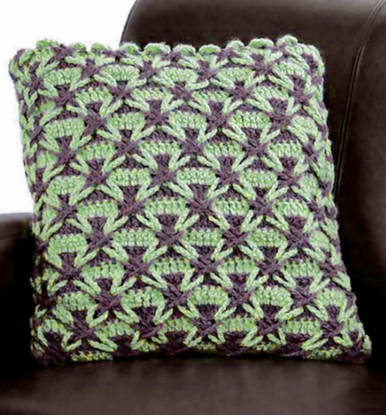Crochet polish star Stitch